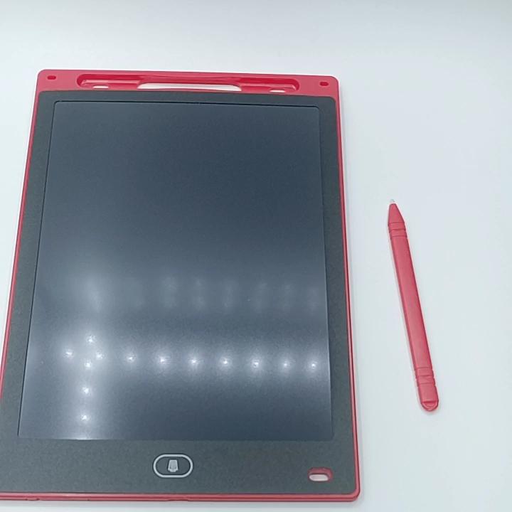 휴대용 LCD 태블릿 10/12 인치 Erasble 드로잉 패드 어린이 교육 완구