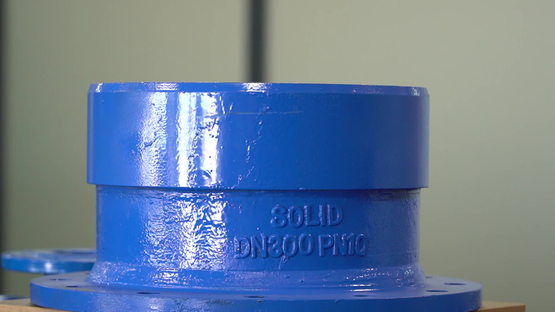ISO2531 EN545 Ductile Iron Double Flange Concentric Reducer Taper