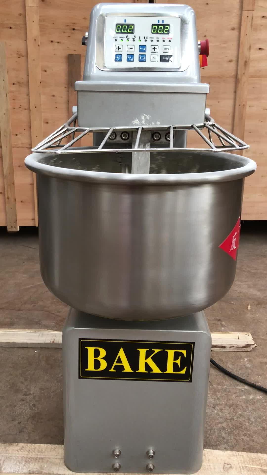 120kg Hot Sale Pizza Flour Dough Mixer/Industrial Electric Homemade Bread Commercial Dough Mixer