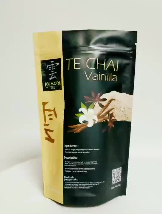 Stand up pouch for frozen food dog packaging coffee