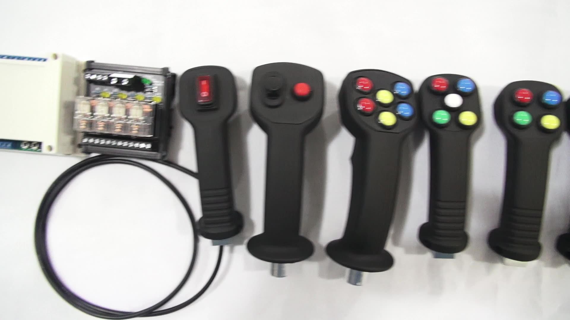 厂家供应收割机机械手一杆操纵智能控制器电控盒子 农机电控盒子