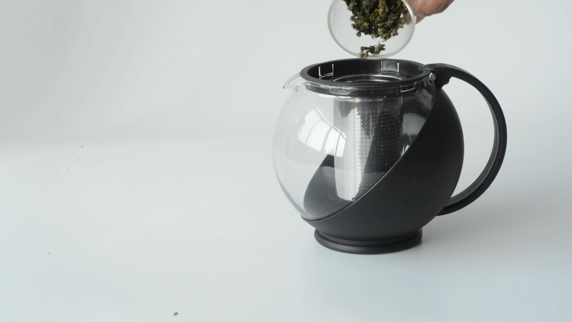 Resistente al calor Color azul 750 ml árabe de café de vidrio juego de té café