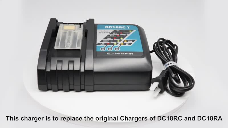 Multi-function plug 14.4V-18V 3Ah Universal Li-Ion Power Tool Batteries Charger For DC18RC Battery Charger