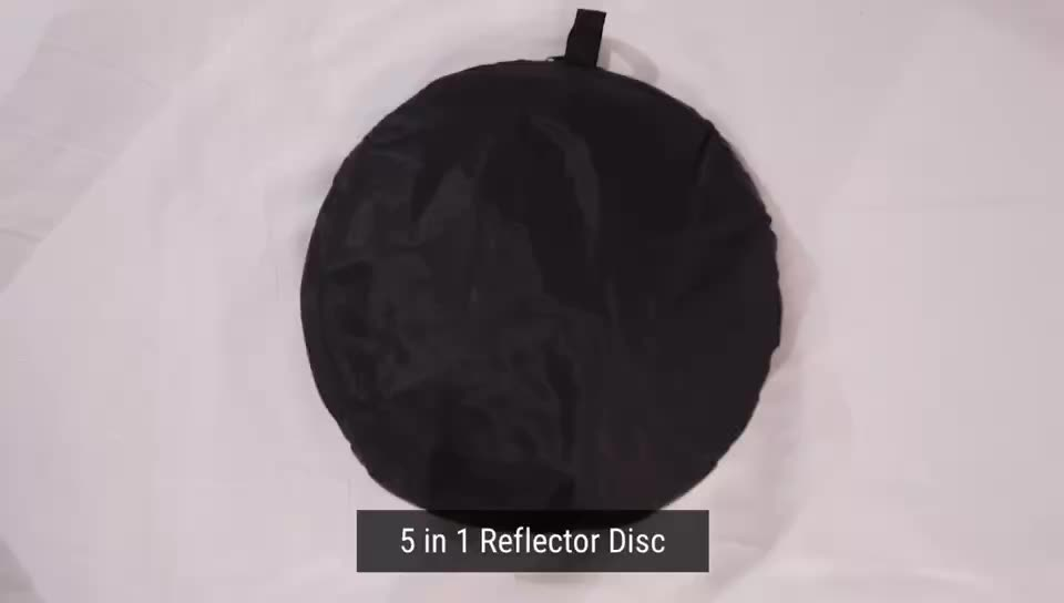 Photography Reflector Disc 5-in-1 Collapsable Reflector