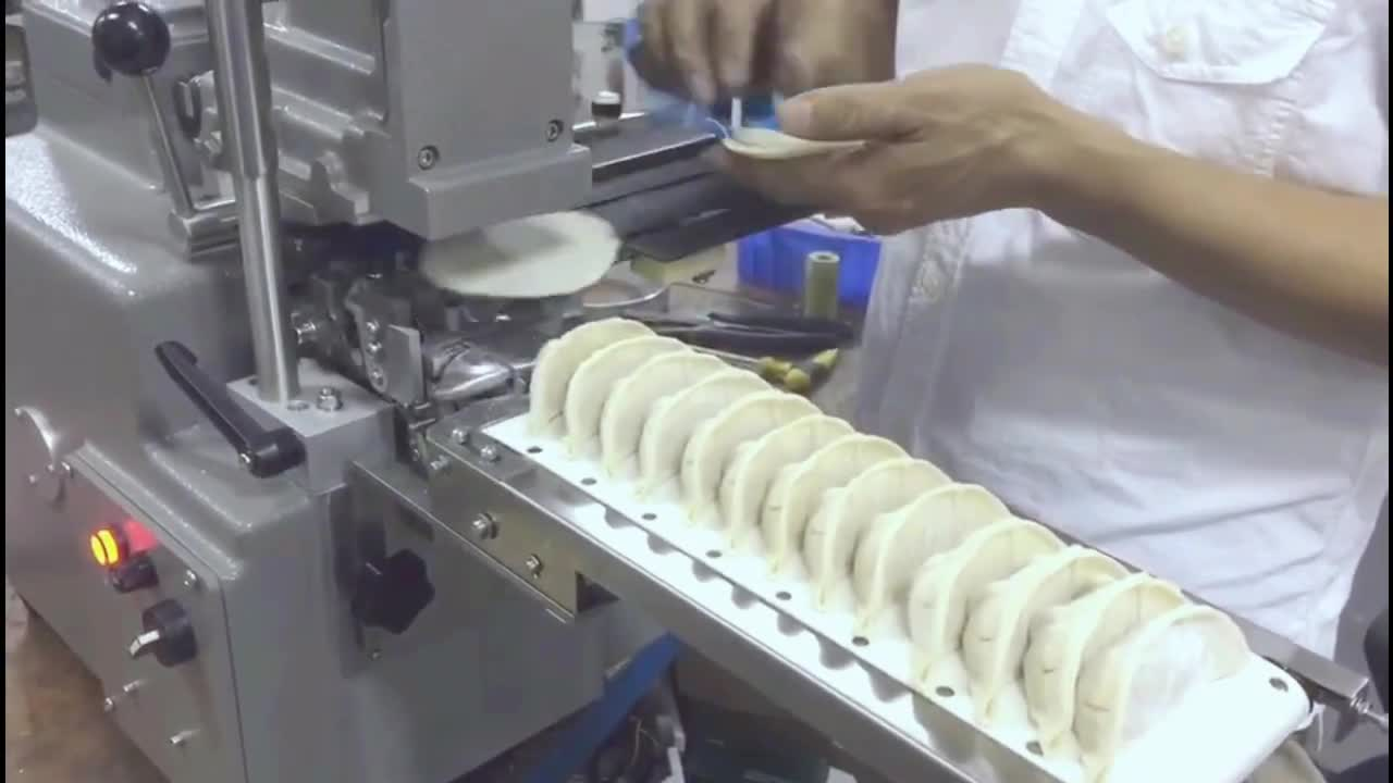 easy to operate automatic dumpling machine for home use