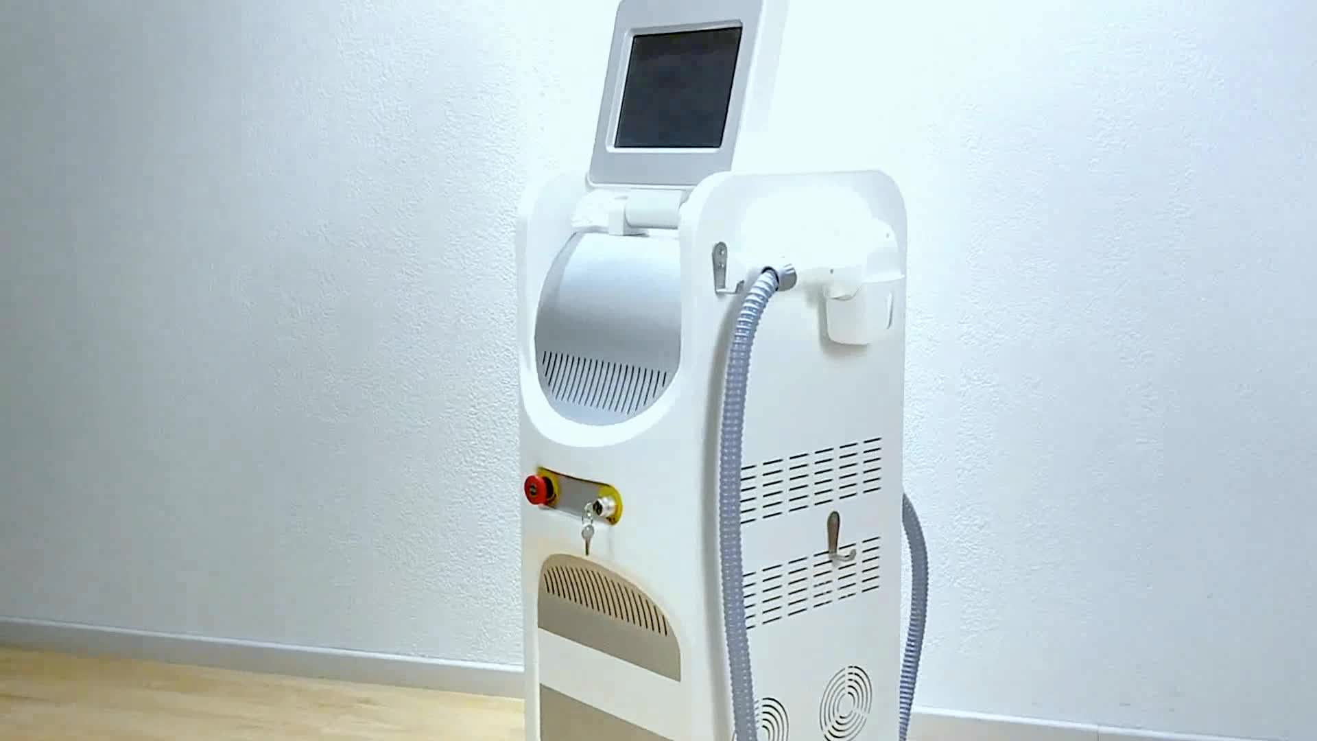 Professional Laser Diode 755 808 1064Nm Alexandrite Laser 755Nm 3 Wavelength Diode Laser Hair Removal Machine Price