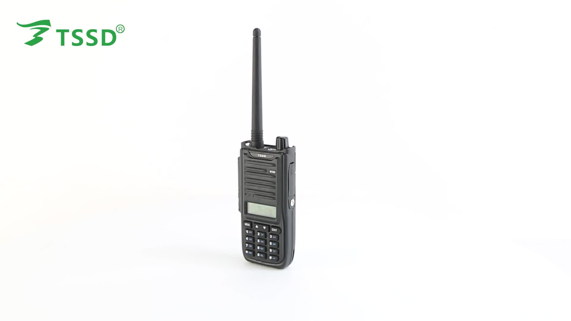 police handy walkie talkie for tssd ts-m398 dual band mobile transceiver