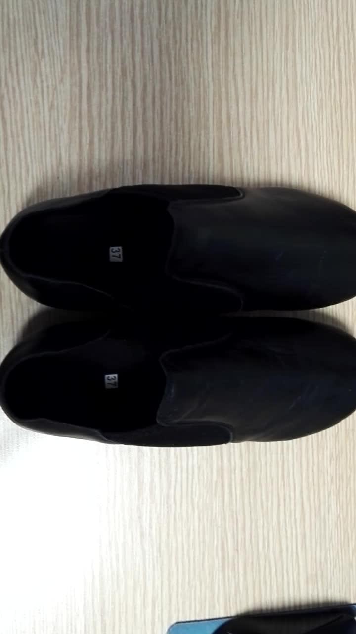 7000042 Grosir OEM Kulit Jazz Sepatu Tari Dewasa Anak Portabel