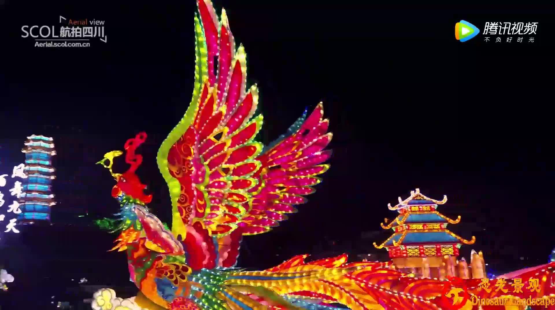 Lanterna elétrica decorativa feita à mão tradicional chinesa do dragão do papel chinês de pano