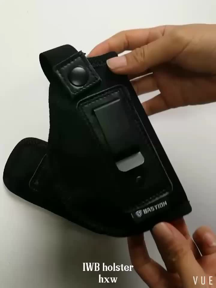 IWB Holster for Concealed Carry Pouch Single Double Stack Inside The Waistband