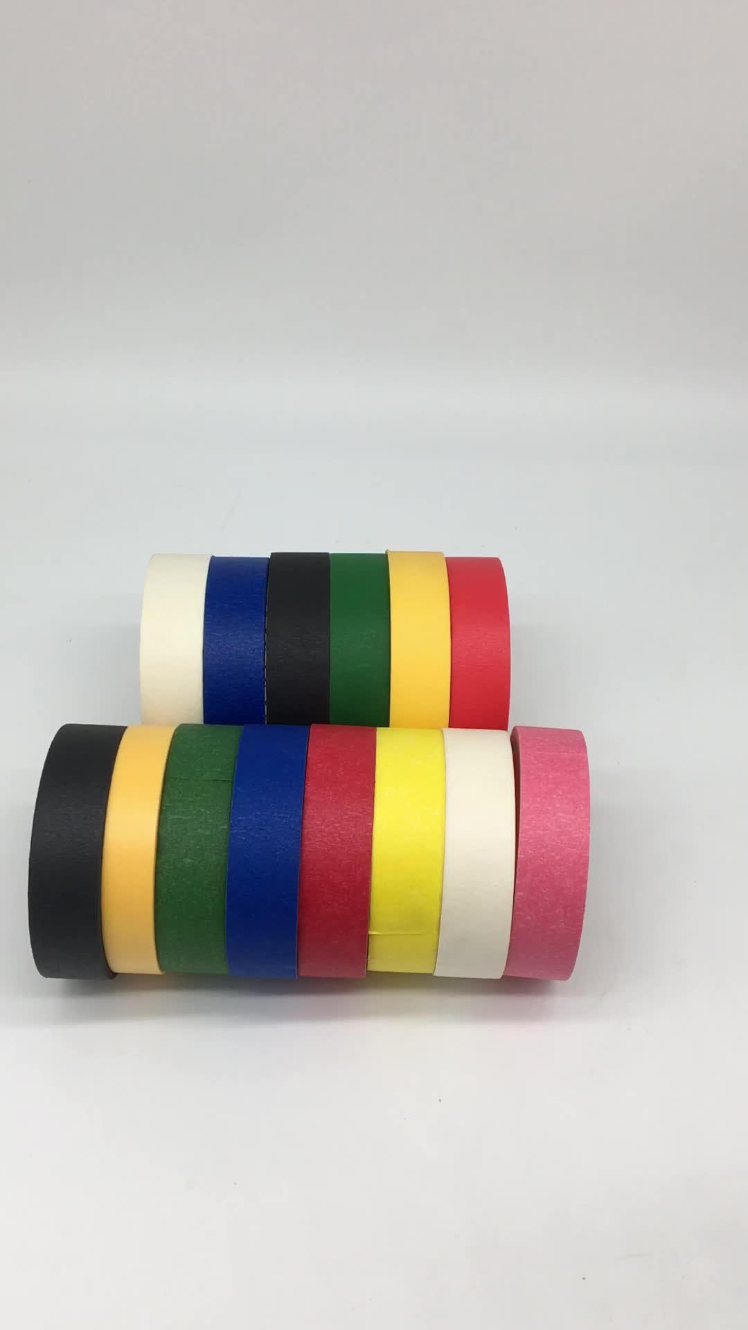 China fábrica con 13 experiencia suministrar diversos colores cinta adhesiva