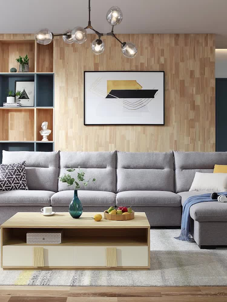 modern family l shape office couch living room sofa