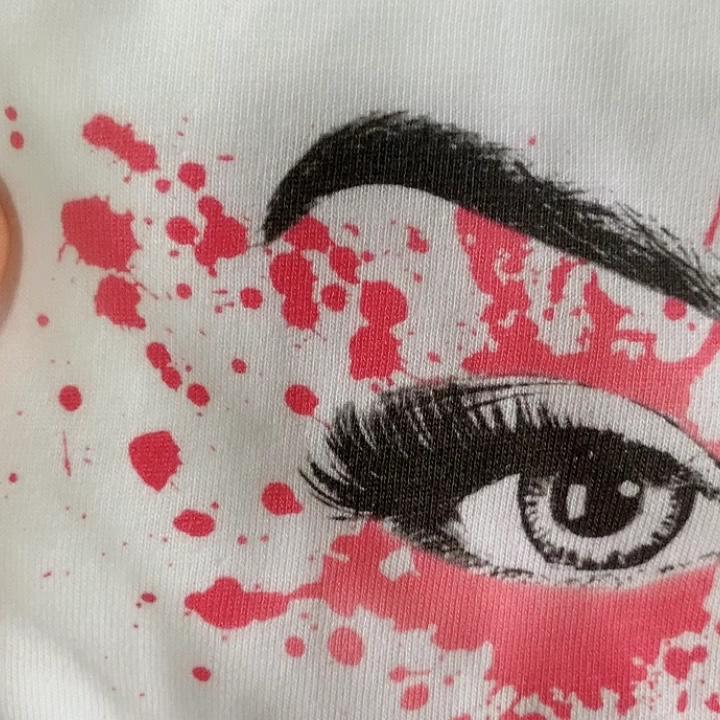 Free shipping 100% American cotton custom print white t shirts digital  print
