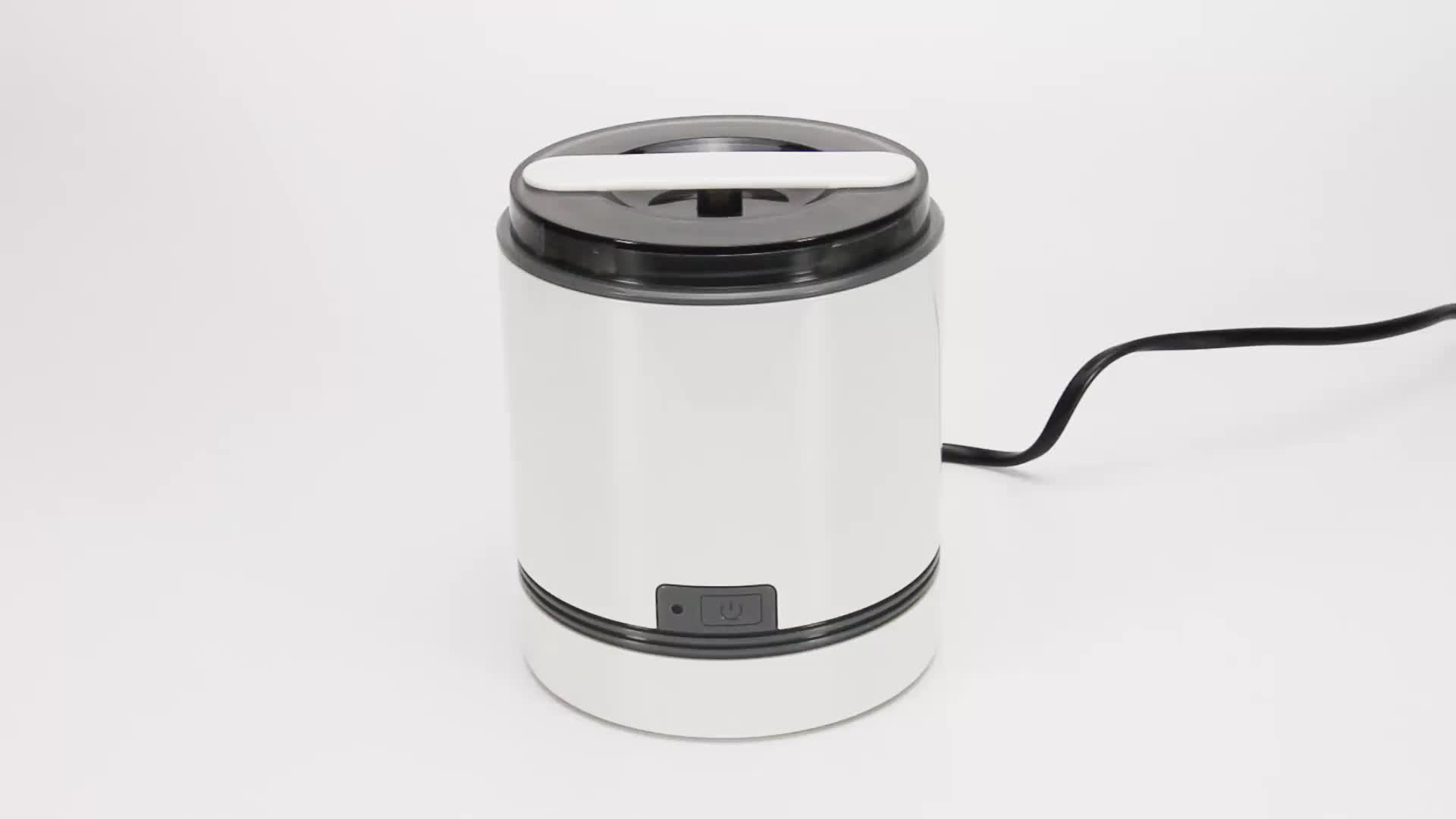 CE RoHS professional small portable jewelry ultrasonic cleaner