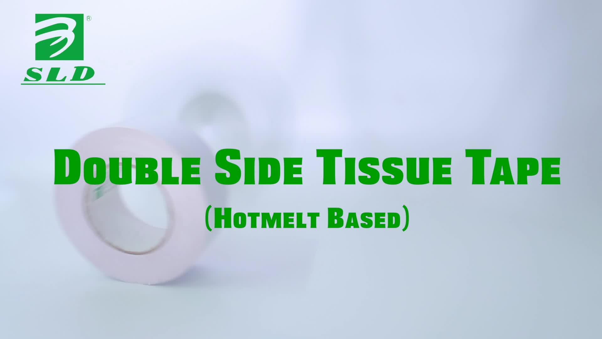 Hotmelt Berdasarkan dengan Harga Termurah Tisu Sisi Ganda Tape, Double Side Cutting Pita Perekat