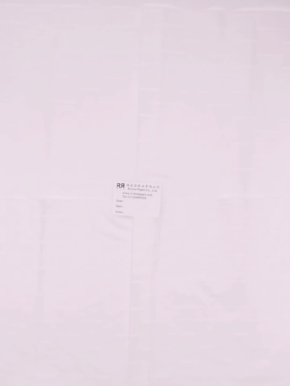company logo used 17gsm custom printed shoe box tissue paper