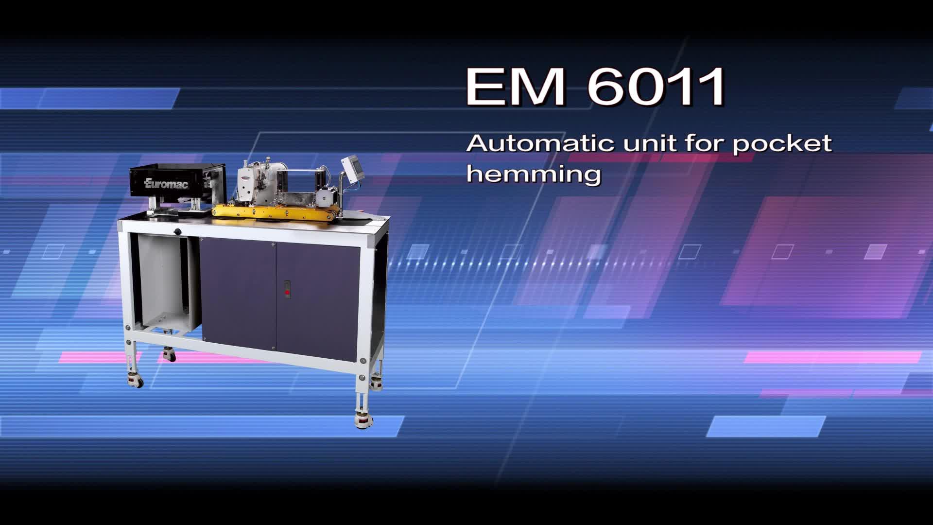 Los 6011 Unidad Automática de bolsillo hemming