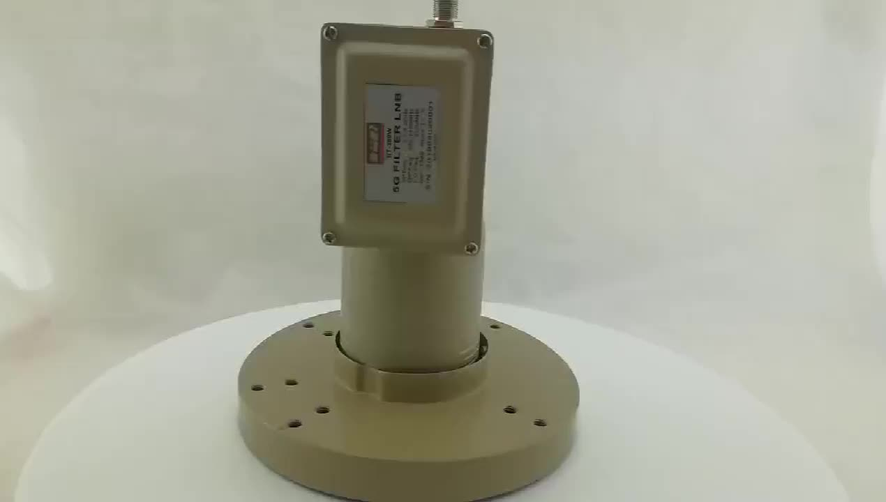 5G filter Anti-interference 3.7-4.2Ghz  with  5150Mhz  of Single output C Band LNB