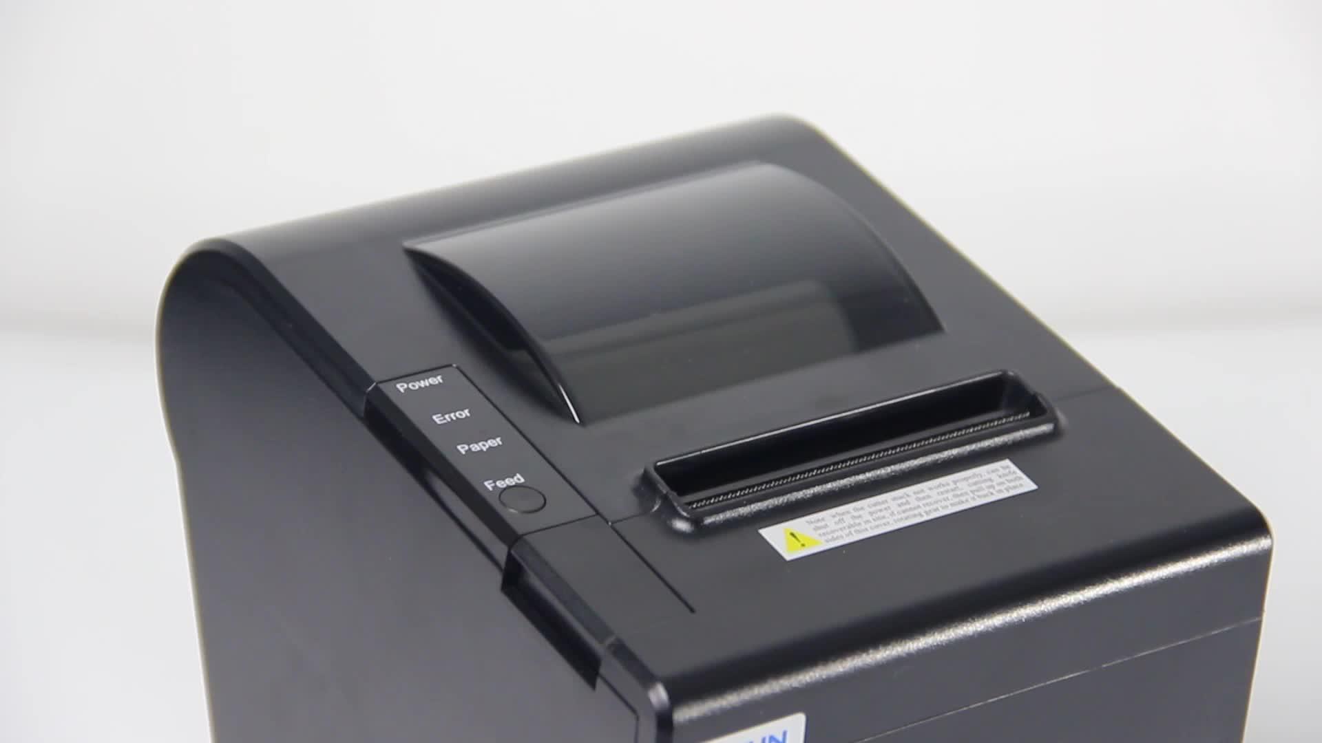 RS232/USB/Bluetooth 80 MILLIMETRI POS Termica per PrinterAndroid Stampante Termica per Ricevute