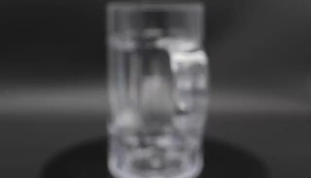 Round Plastic Unbreakable PC Beer Glass Cup For Party