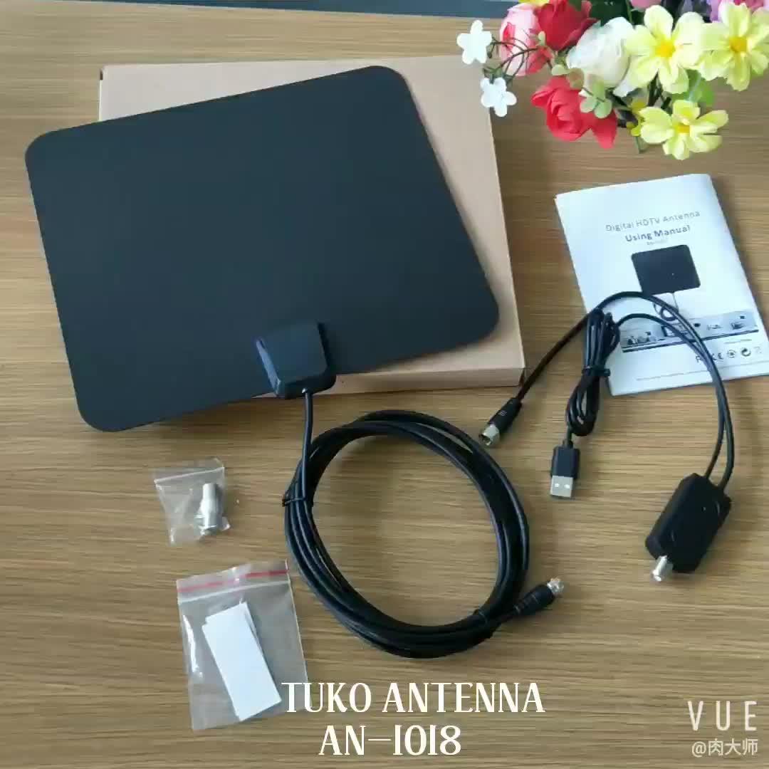 4 K di trasporto VHF UHF ATSC ISDB-T digitale HD migliore antenna tv interna 2019