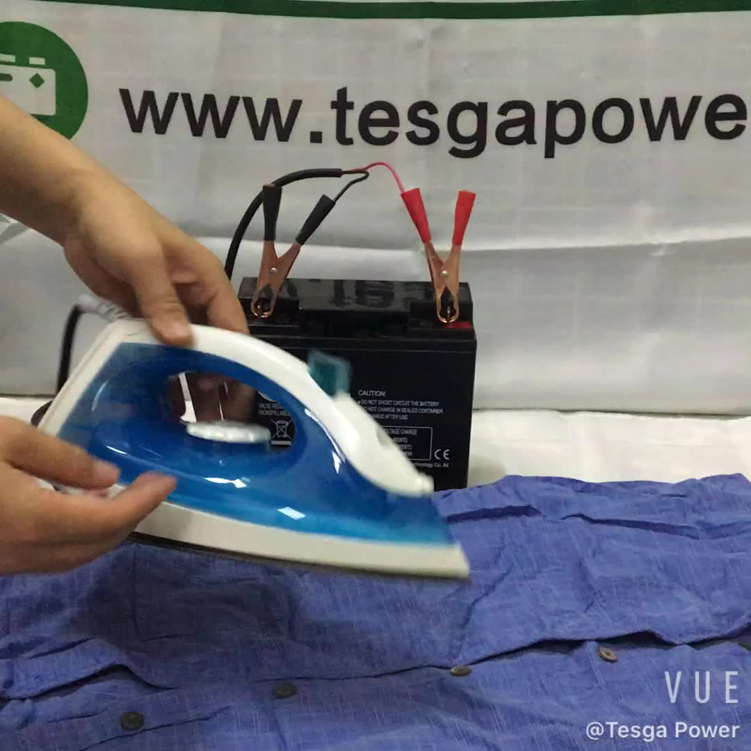150w सौर ऊर्जा लोहे 12V डीसी बिजली सौर लोहे ऊर्जा प्रणाली भाप लोहे के लिए कपड़े