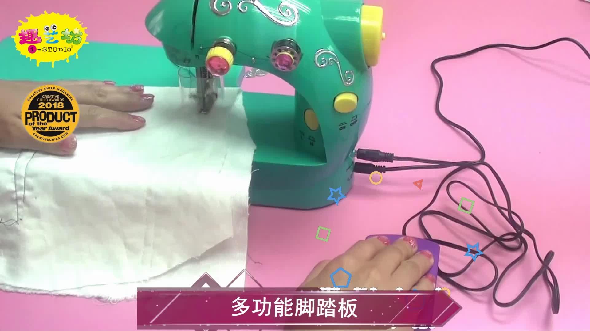 Hoge en Lage snelheden draagbare hand naaimachine 202, mini huishoudelijke naaimachine china