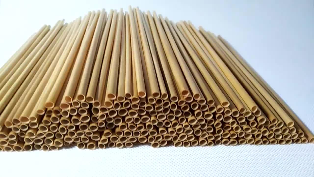 Prix usine Foin Straws100 % Substitution De Plastiques Et de Métaux Bio ECO Naturel Blé Paille