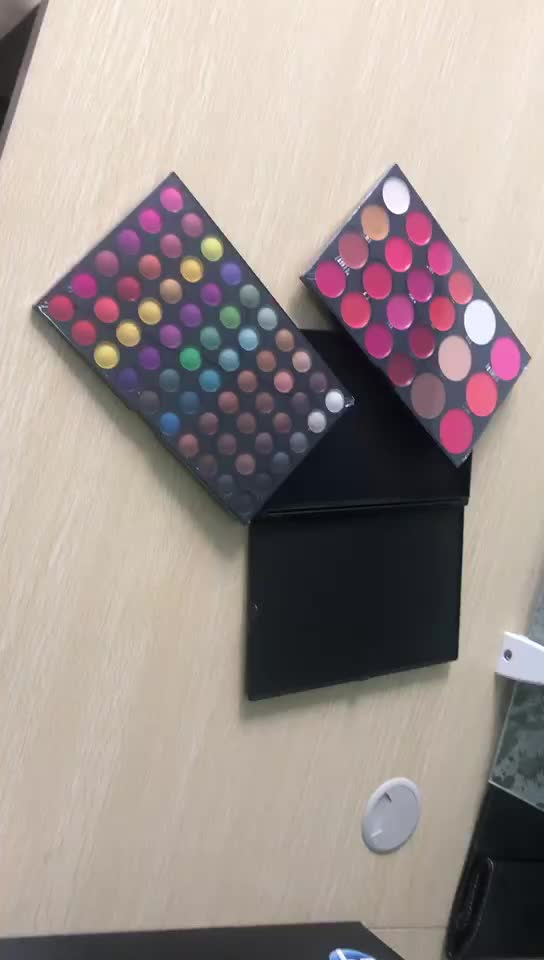 highlighter makeup 82 Color private label eyeshadow palette