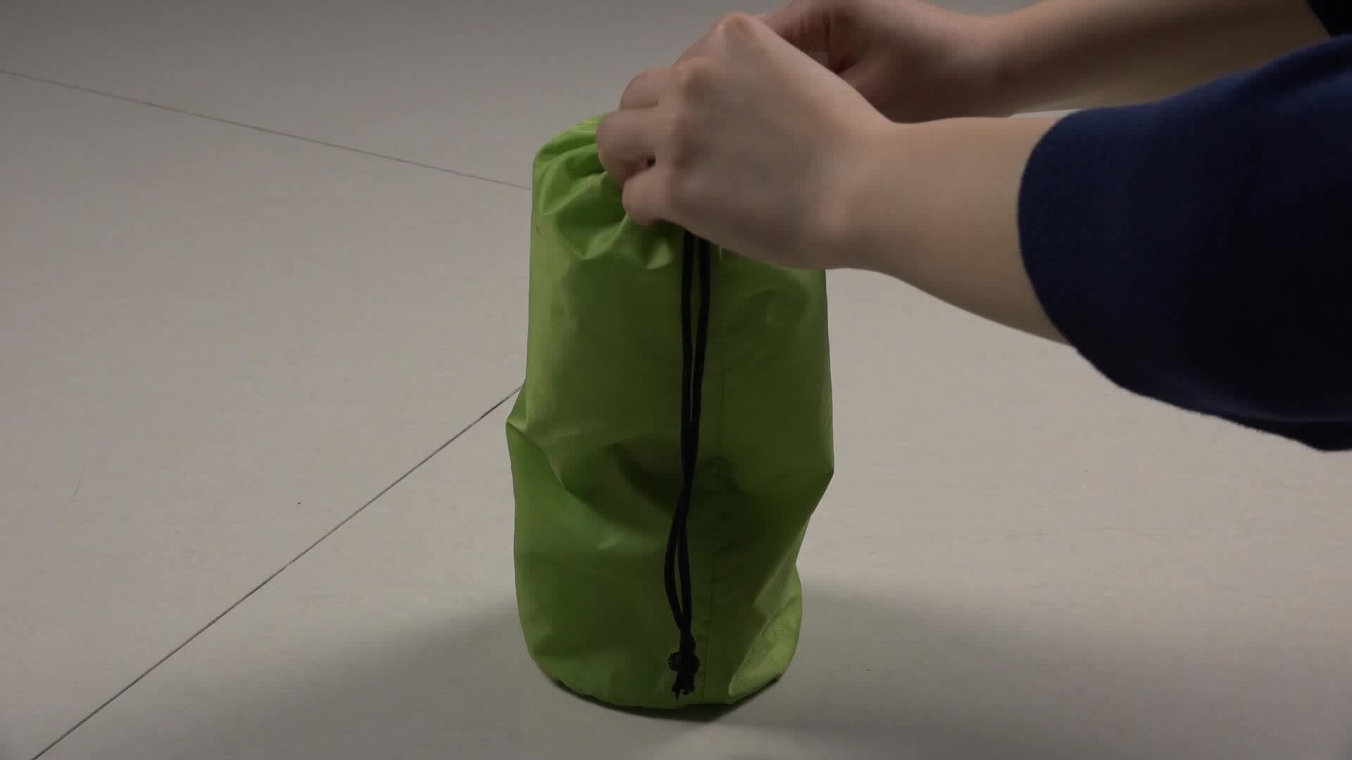 TPU Thick Lightweight Inflating Air Sleeping  Camping Pad With Pillow