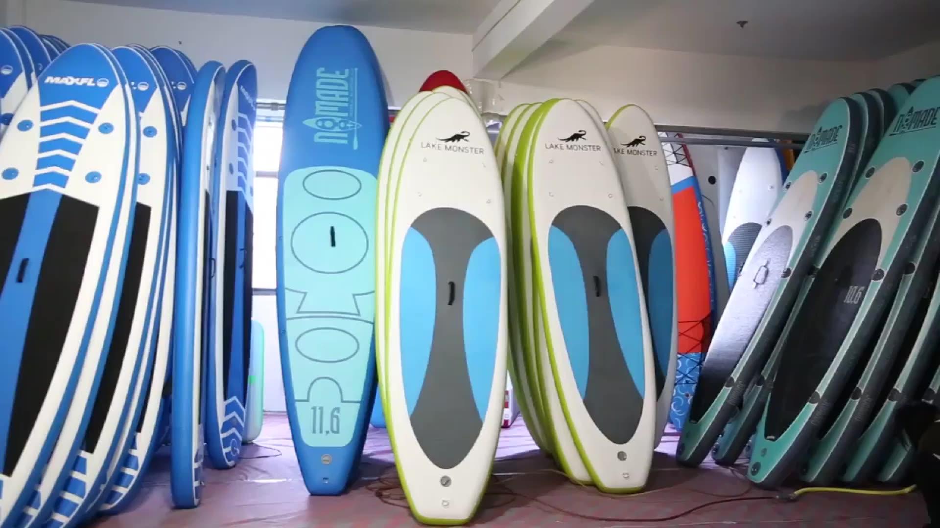 Großhandel aufblasbare smartmak sup paddle board