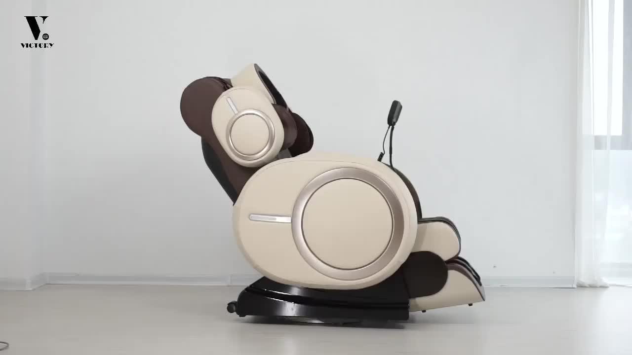 2019 핫 세일 3D 다기능 전신 마사지 의자 마사지 의자 제로 중력