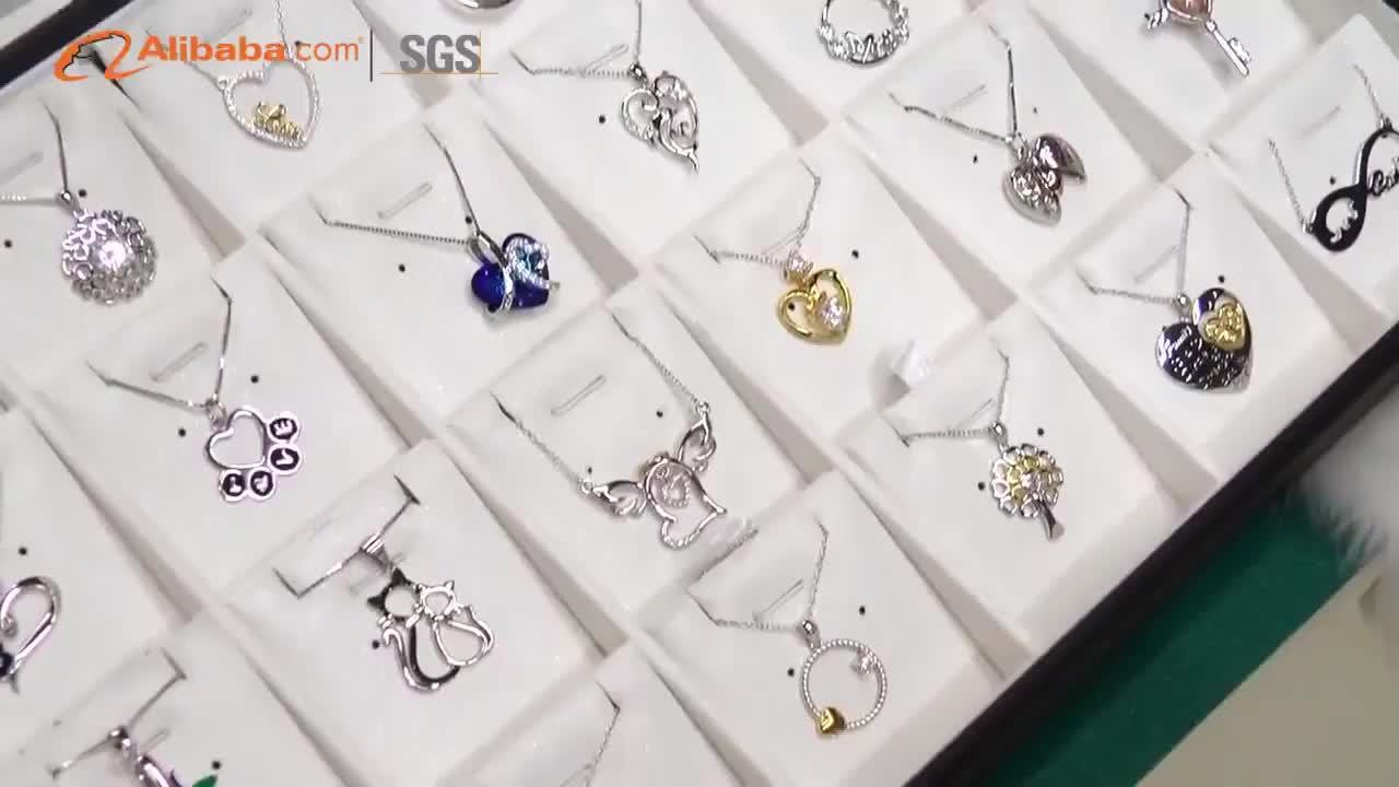Оптовая продажа Pet Paw сердце Шарм и цилиндр Мемориал урна цепочки и ожерелья серебро кремации ювелирные изделия