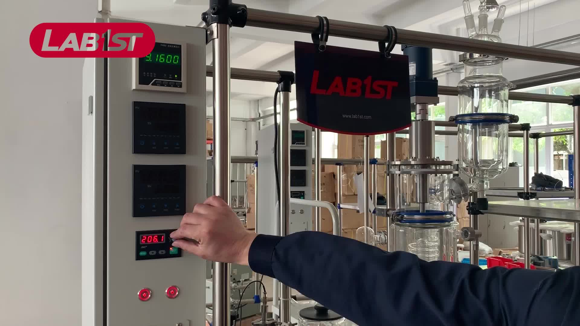Turnkey Short Path Thin Film Distillation System for Essential Hemp Oil Extraction