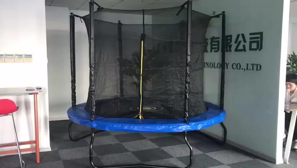 Cheap Big Indoor 14FT Trampoline For Sales With Enclosures