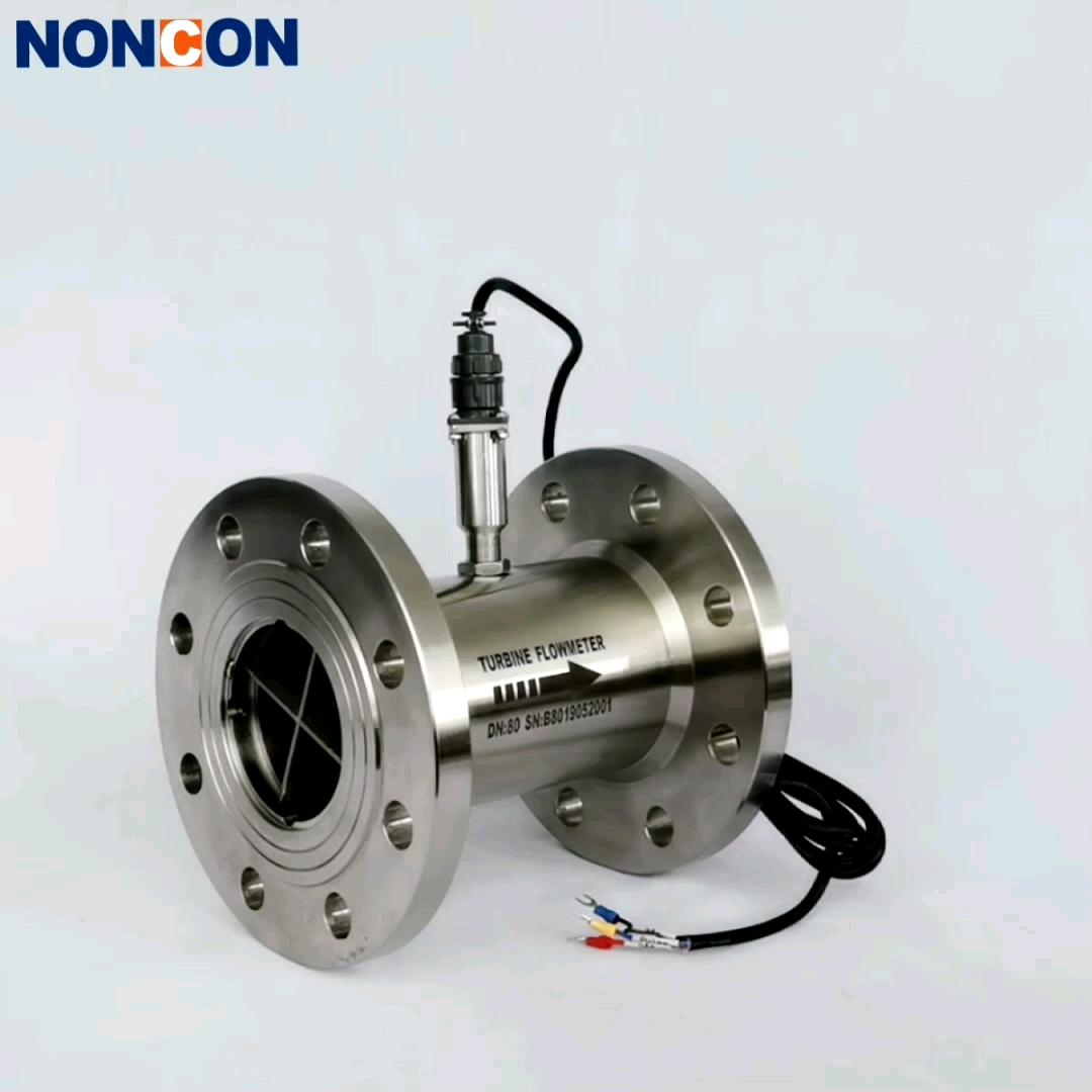 DN50 High Accuracy Smart Large Diameter Liquid Turbine Water Meter Flow Meters
