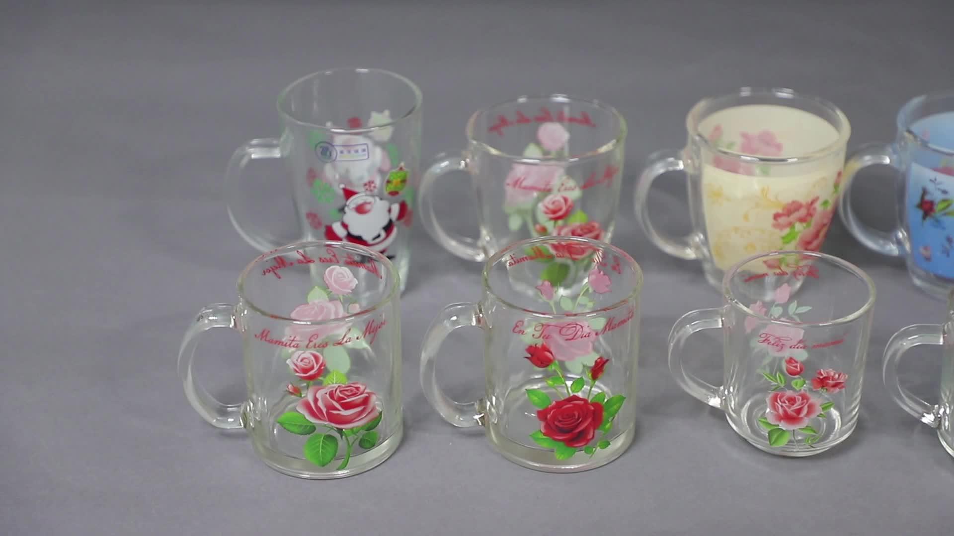 Promotionele souvenir borrelglas met custom frosted logo 1904