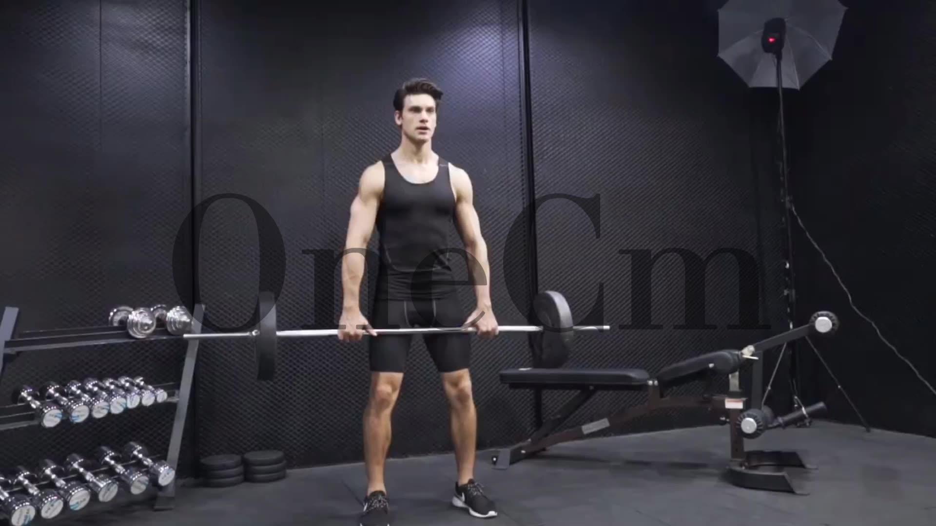 Cheap Oem Print Custom Sleeveless T Shirts Clothes Men Apparel Sport Fitness Quantity Summer