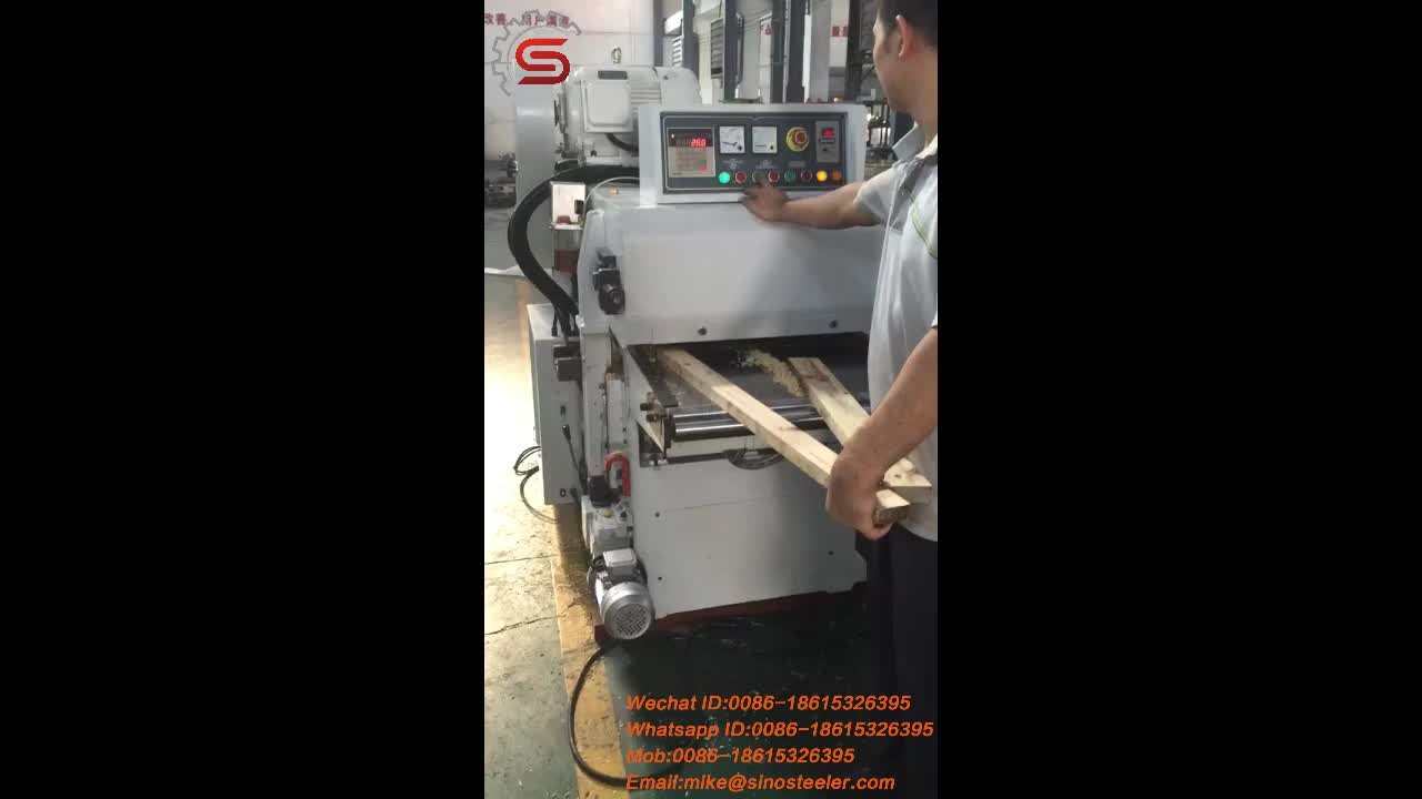 MB204F Heavy duty double sides planer for workshop