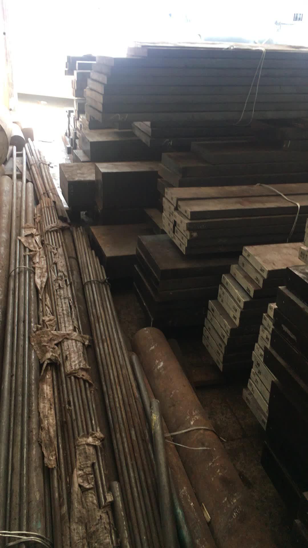 원료 스틸 공급 Q345B/ST52 동등한 크롬 도금 솔리드 바 스틸 가격