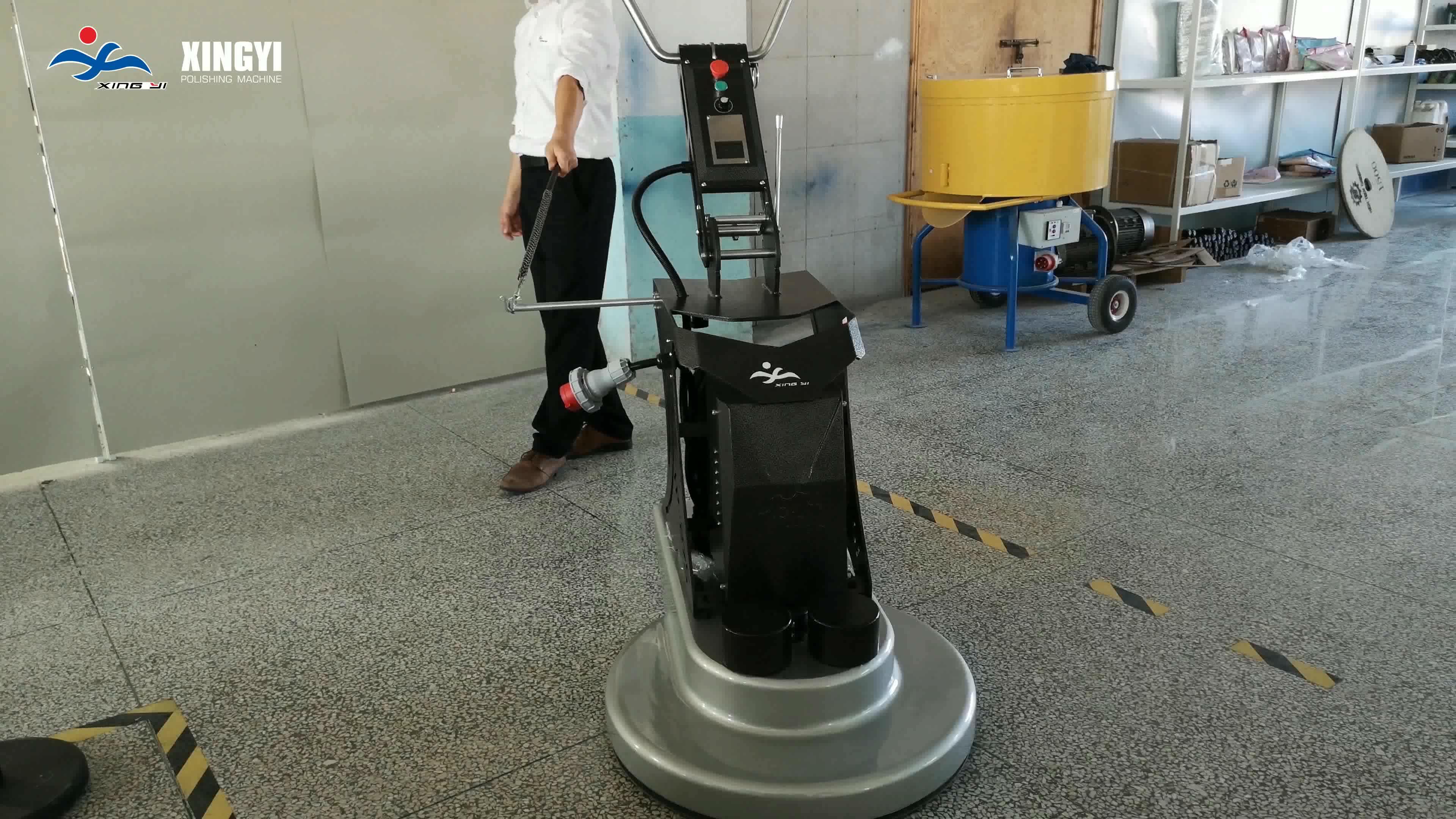 27 zoll Beton Polieren Maschine Grinder Polierer Maschine