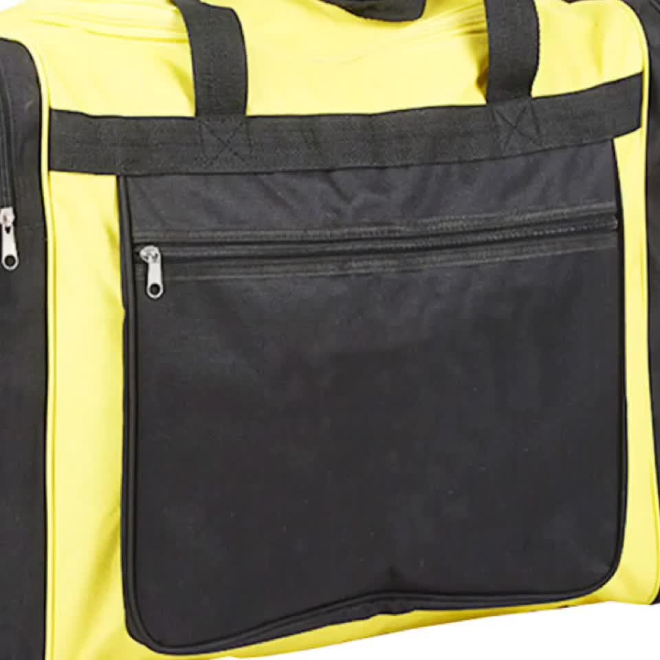Sport Small Gym Bag Durable Polyester Travel Duffel Bag Tote Luggage Fitness