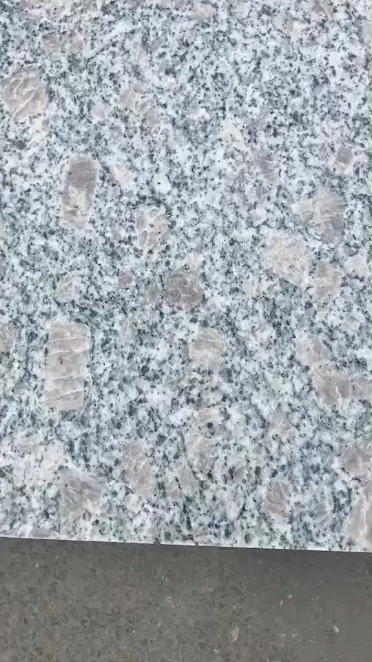 Cheap China G383 Pearl Flower Granite Stair Case Granite Steps