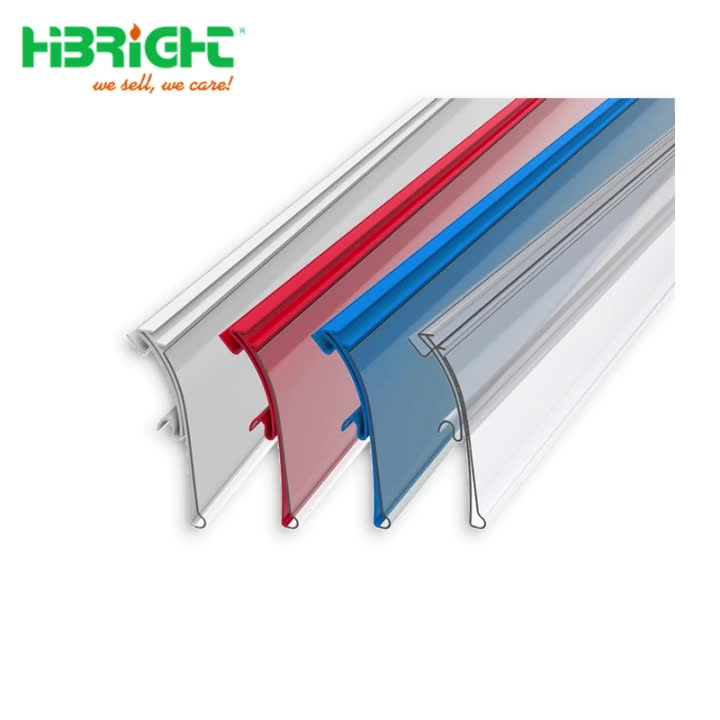 Plastic Price Tag Sign Label Display Holder Thickening For Supermarket Or Store Shelf Hook Rack