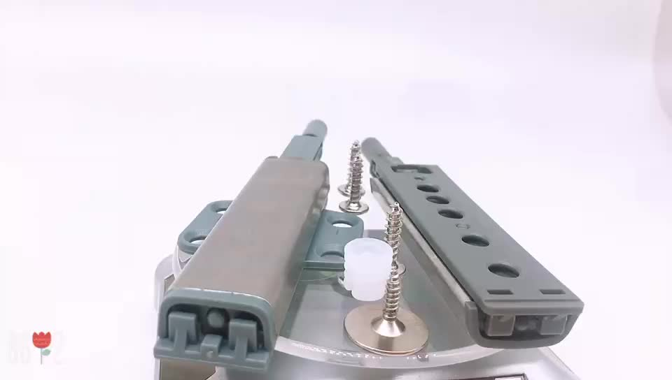 Stainless Steel Cabinet Drawer Cupboard Push to Open System Damper Push Catch Soft Close Door Damper