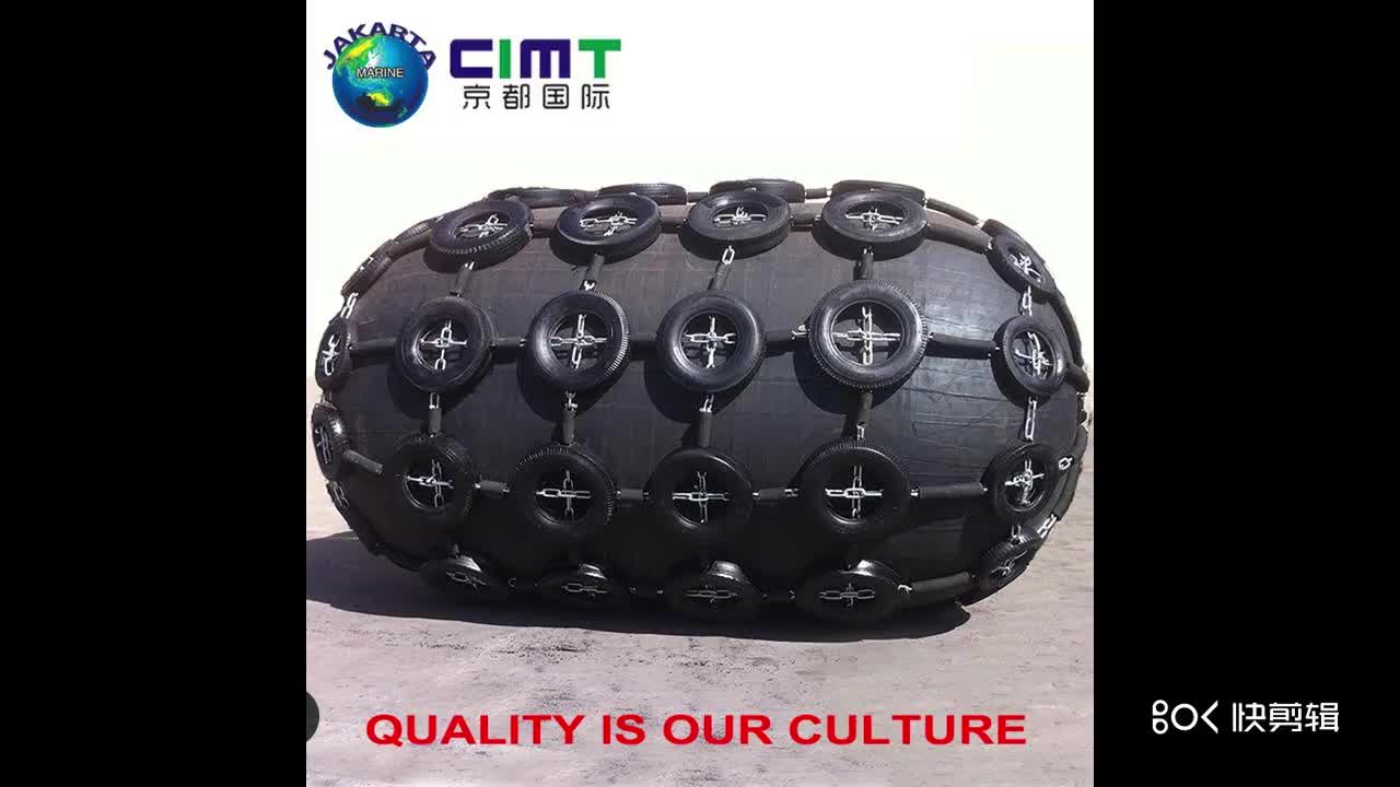 Chinese supplier Air-tight rubber airbag tug boat fender for tugboat and workboat