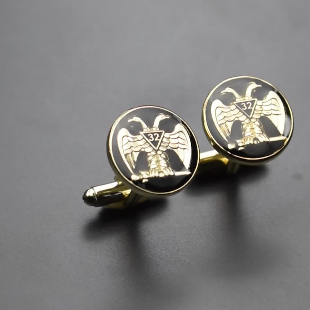 Groothandel custom manchetknopen manchetknopen voor mannen shirt hoge kwaliteit manchetknopen voor mannen