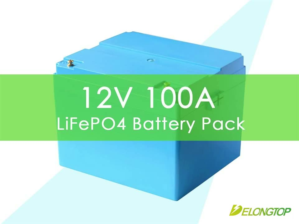 Factory sale high quality  prismatic 12v 100ah lifepo4 battery pack