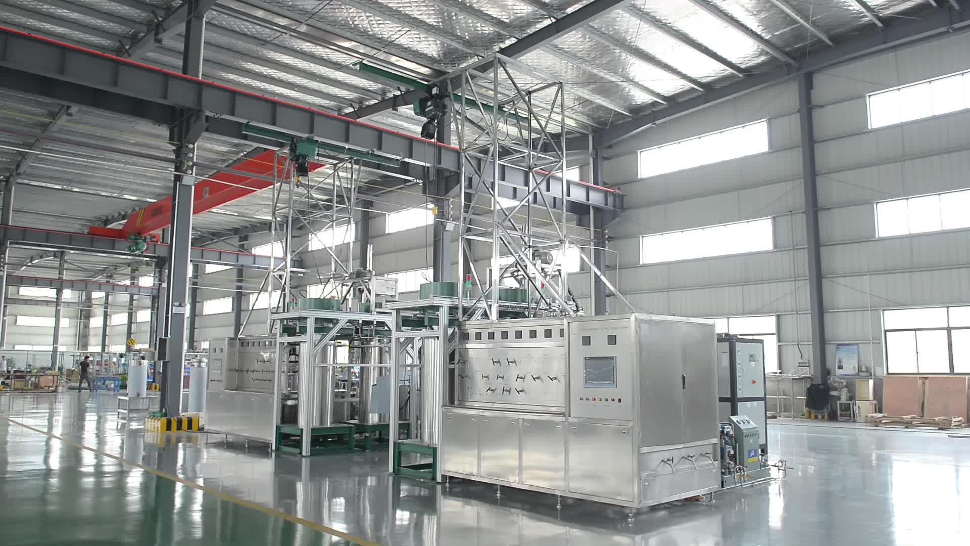 CBD Cannibis Öl Überkritische CO2 Extraktion Maschine