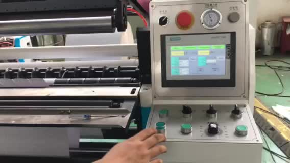 New Type Eco-friendly POS Paper Thermal Paper Roll Slitting Machine Slitter Rewinder